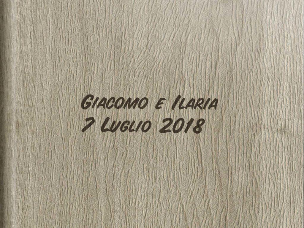 Box Esterno album Giacomo Ilaria