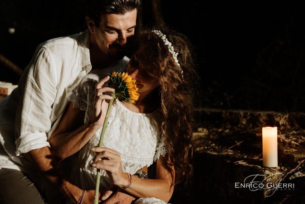 servizio fotografico romantico Firenze