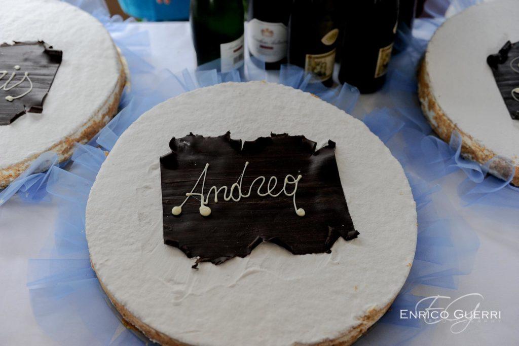 servizi fotografici comunioni e cresime torta