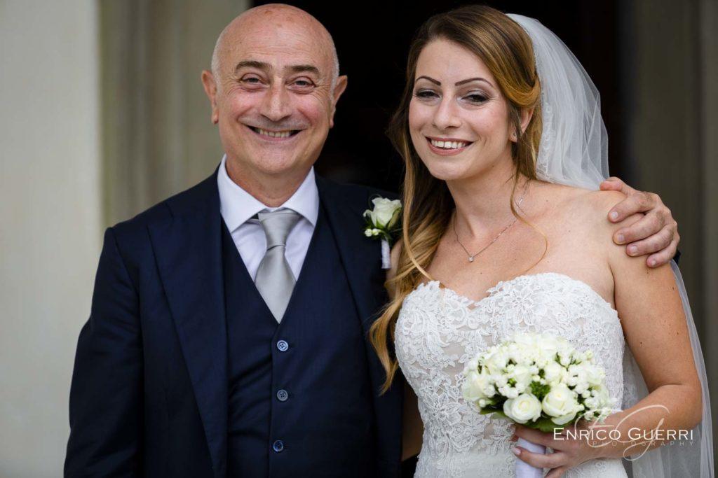 Serivizio fotografico di matrimonio abito da sposa