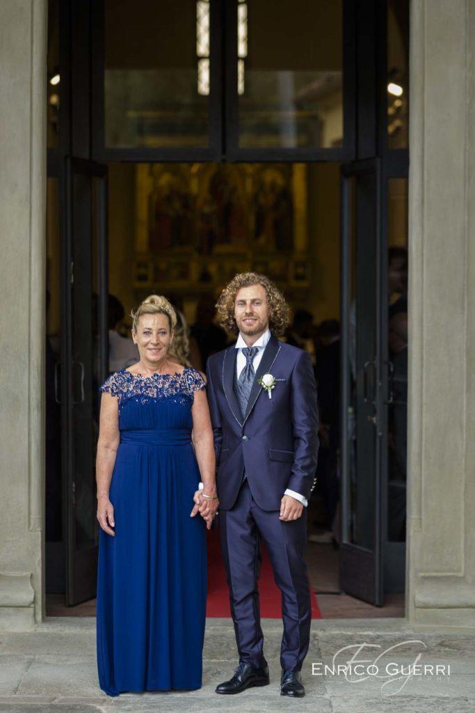 servizio fotografico matrimonio firenze sposo con mamma