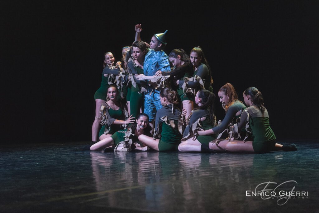 Servizio fotografico di danza