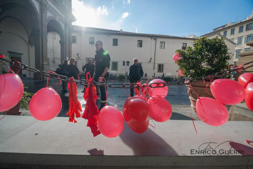 Flash Mob agitiamo il rosso