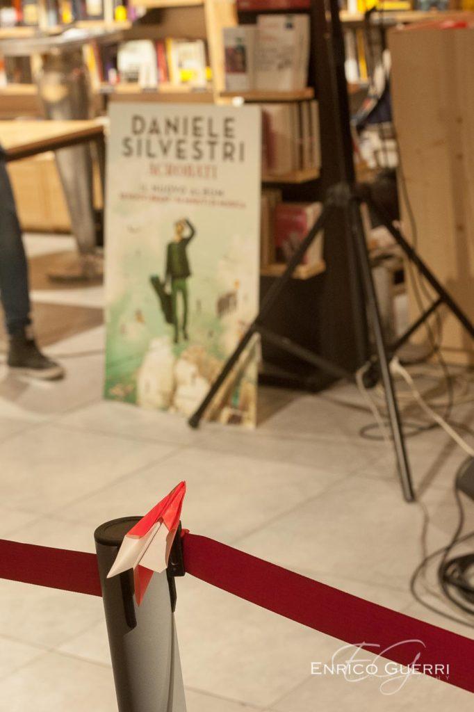 Servizio fotografico per eventi Daniele Silvestri presentazione Acrobati
