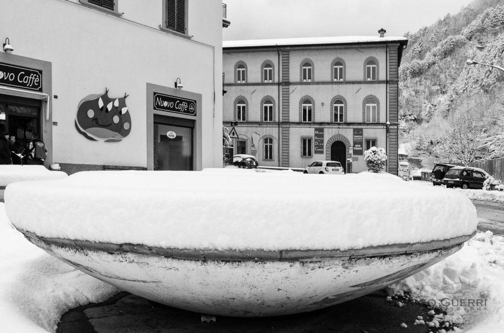 enrico guerri fotografo neve in mugello