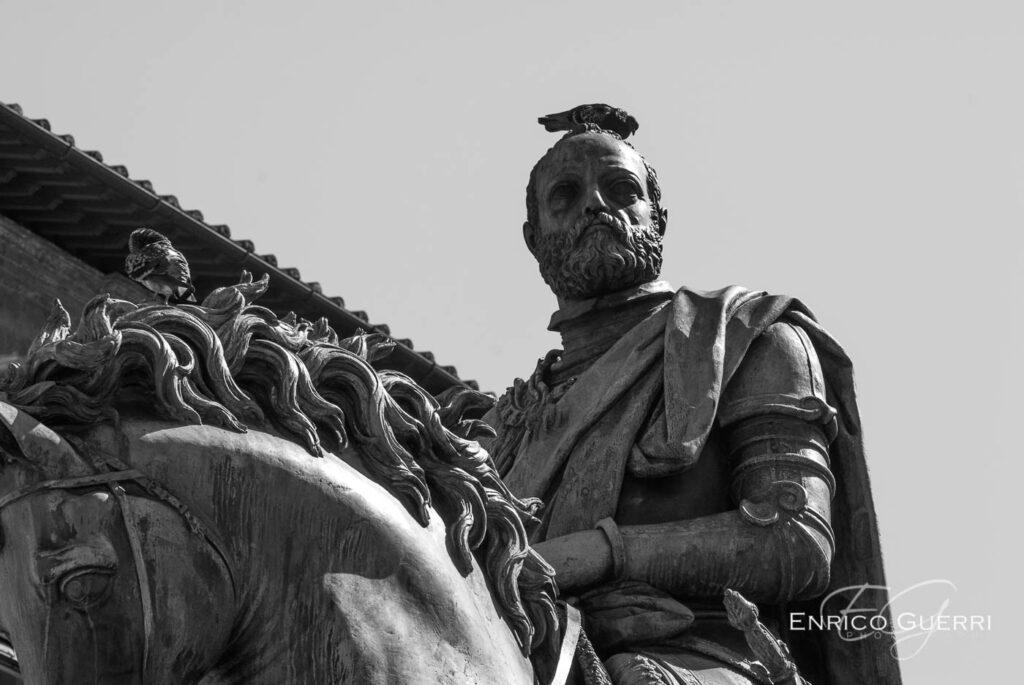Anno 2020 Firenze statua Cosimo I