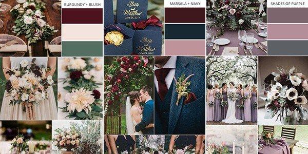 servizio fotografico di matrimonio palette colori