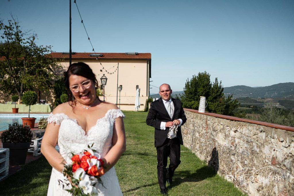 servizio fotografico di matrimonio Firenze ritratto sposi