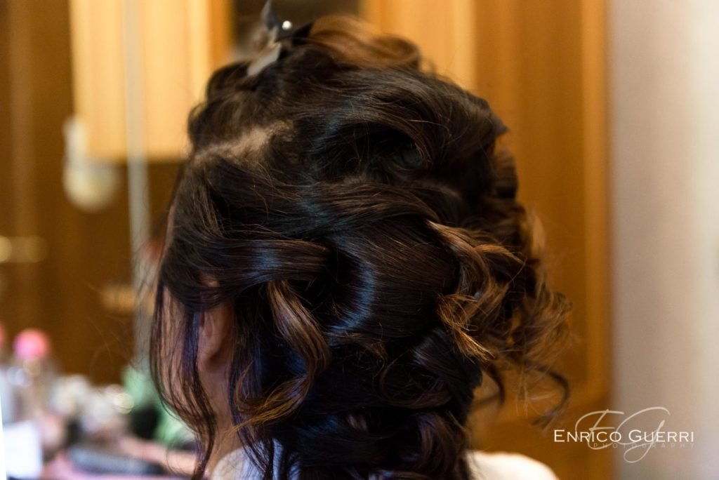 preparativi sposa hair dress