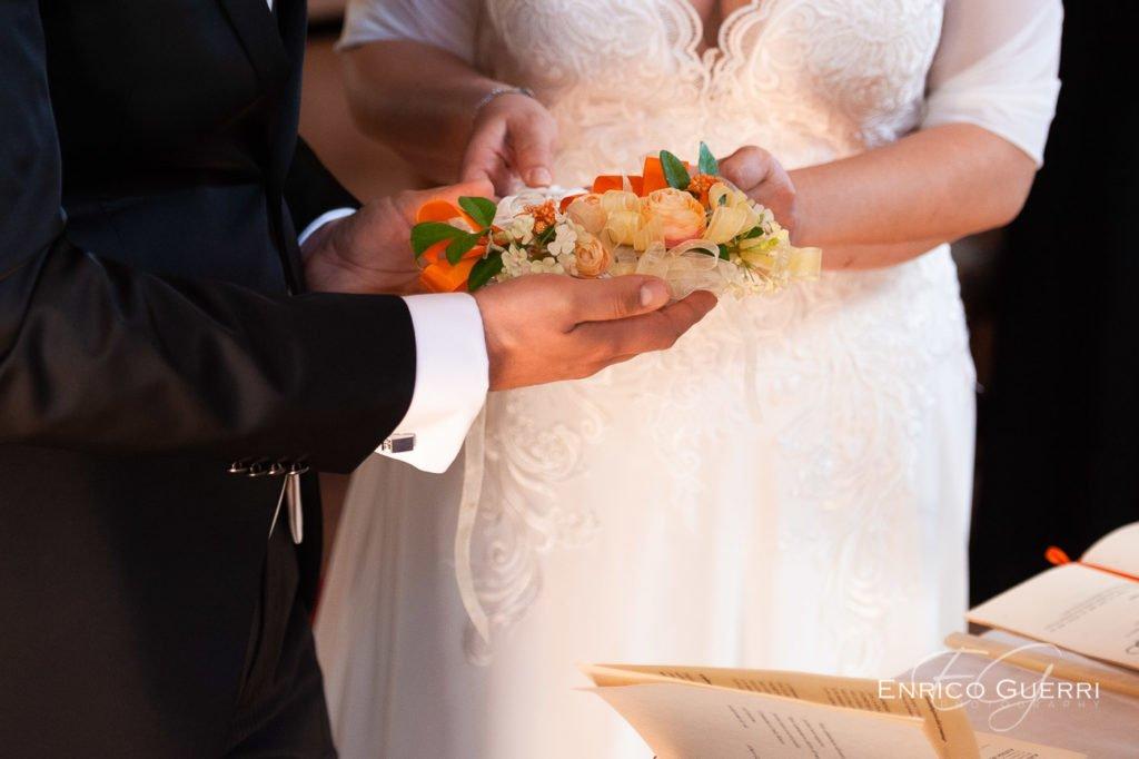 Scambio delle fedi servizio fotografico di matrimonio Firenze